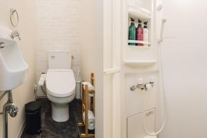 A bathroom at Namba Garden Square AFP Apartment Hotel