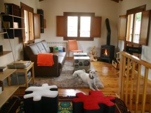 Zona de estar de Hotel Rural Villa Liquidámbar