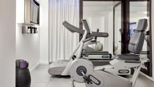 The fitness center and/or fitness facilities at The Pure, a member of Design Hotels