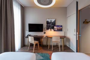 TV/Unterhaltungsangebot in der Unterkunft Aparthotel Adagio Bremen