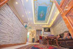 The lobby or reception area at Kaftan Hotel