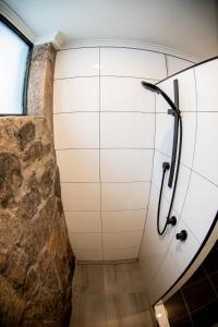 A bathroom at Amber Lodge Mt Buller