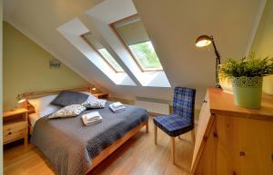 Łóżko lub łóżka w pokoju w obiekcie Apartamenty Sun Seasons 24 - Pod Wangiem