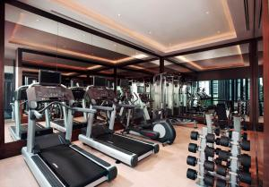 Das Fitnesscenter und/oder die Fitnesseinrichtungen in der Unterkunft Carlton City Hotel Singapore (SG Clean)