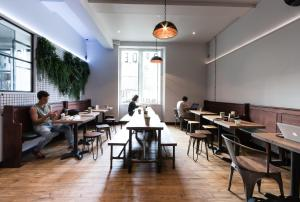 A restaurant or other place to eat at CoDE Pod – The CoURT - Edinburgh