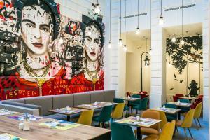 Restaurant ou autre lieu de restauration dans l'établissement T62 Hotel