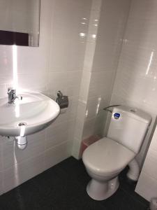 A bathroom at Višķezers