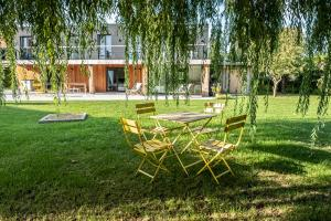 Een tuin van Villa Farfalla