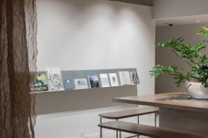 The lobby or reception area at KIRO Hiroshima by THE SHARE HOTELS