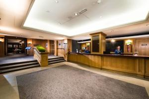 The lobby or reception area at GoGlasgow Urban Hotel by Compass Hospitality