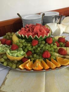 Jedlo v penzióne alebo blízkom okolí