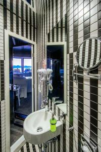 A bathroom at Boutique Hostel Forum