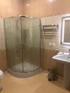Um banheiro em Road Side Suites