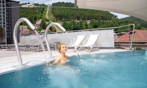 The swimming pool at or near Mokni's Palais Hotel & SPA