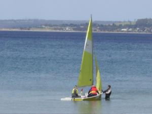 Windsurfing at the apartment or nearby
