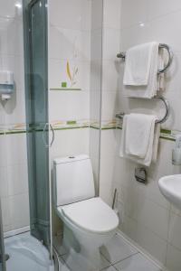 A bathroom at Legend of Baikal