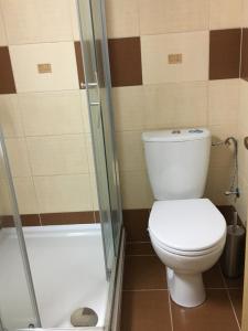 Kúpeľňa v ubytovaní Penzión Petrov grunt