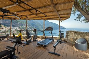 Palestra o centro fitness di Hotel Le Agavi