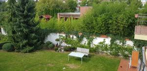 A garden outside Fontána
