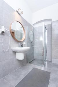 Salle de bains dans l'établissement Bison Hostel