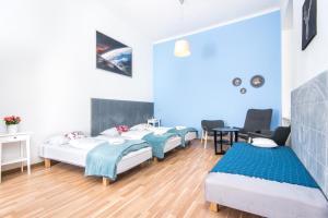 Un ou plusieurs lits dans un hébergement de l'établissement Bison Hostel