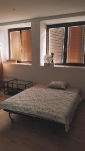 Posteľ alebo postele v izbe v ubytovaní Apartment Dubnica Prejta