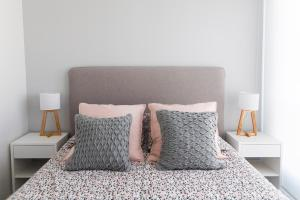A bed or beds in a room at Belgrano Luminous and Nordic Style