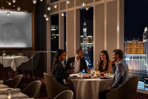 A restaurant or other place to eat at Waldorf Astoria Las Vegas