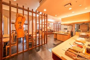 A restaurant or other place to eat at Richmond Hotel Akita Ekimae