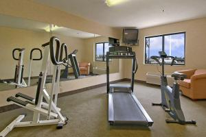 The fitness center and/or fitness facilities at Baymont by Wyndham Tuscola