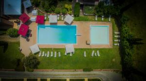 A view of the pool at La Sorgente or nearby