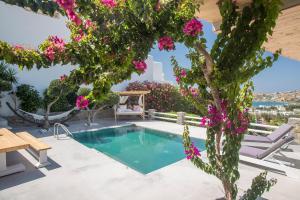 The swimming pool at or near Paros Palace