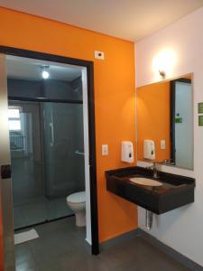 A bathroom at Concept Design Hostel & Suites