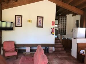 Zona de estar de Casas Rurales el Cerrete de Haro