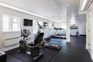 The fitness center and/or fitness facilities at Sandman Signature Hotel Newcastle
