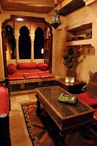 The lobby or reception area at Killa Bhawan