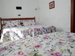 Cama o camas de una habitación en Hotel Salldemar