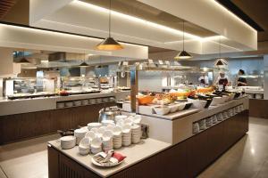 Restauracja lub miejsce do jedzenia w obiekcie Sotavento Beach Club