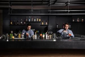 Hol lub bar w obiekcie Euphoria Resort - All Inclusive