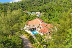 A bird's-eye view of Carana Hilltop Villa