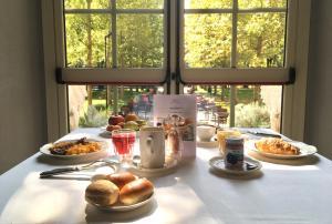 Opciones de desayuno disponibles en Park Hotel Pacchiosi