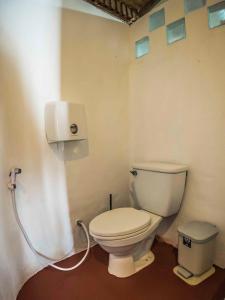 A bathroom at The Earth House