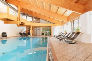 The swimming pool at or near Vegan Hotel La Vimea