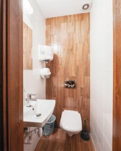 Kúpeľňa v ubytovaní Ginger ApartHostel