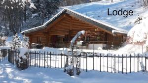 L'établissement Chalet Les Rindes en hiver