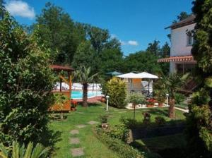 The swimming pool at or near Hotel Schmid