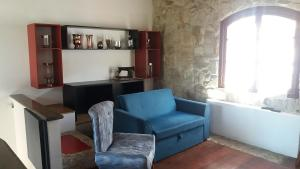 A seating area at residence Italia