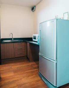Küche/Küchenzeile in der Unterkunft iCheck inn Residence soi 2