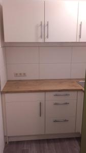 Küche/Küchenzeile in der Unterkunft Freizeitzentrum Sambachshof GmbH