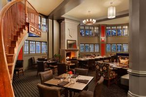 A restaurant or other place to eat at The Elms Hotel & Spa, a Destination by Hyatt Hotel